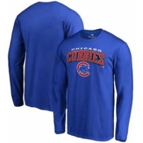 Fanatics Branded ファナティクス ブランド スポーツ用品  Chicago Cubs Royal Hometown Collection Cubbies Long Sleeve T-Shirt