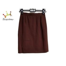 イヴサンローラン YvesSaintLaurent スカート サイズ36 S レディース 美品 ダークブラウン  値下げ 20200115