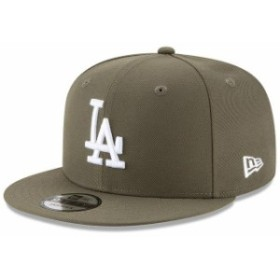 New Era ニュー エラ スポーツ用品  New Era Los Angeles Dodgers Olive Basic 9FIFTY Adjustable Snapback Hat