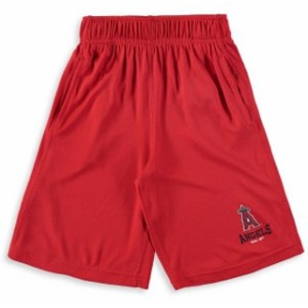 Outerstuff アウタースタッフ スポーツ用品  Los Angeles Angels Youth Red Link Up Performance Shorts
