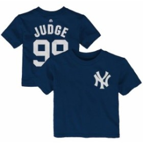 Majestic マジェスティック スポーツ用品  Majestic Aaron Judge New York Yankees Infant Navy Name & Number T-Shirt