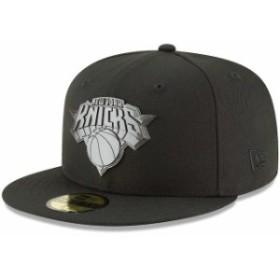 New Era ニュー エラ スポーツ用品  New Era New York Knicks Black Sleeked Finish 59FIFTY Fitted Hat