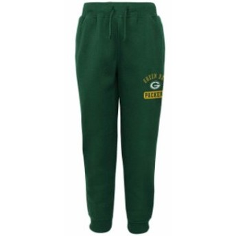 Outerstuff アウタースタッフ スポーツ用品  Green Bay Packers Youth Green 90s Fashion Fleece Pants