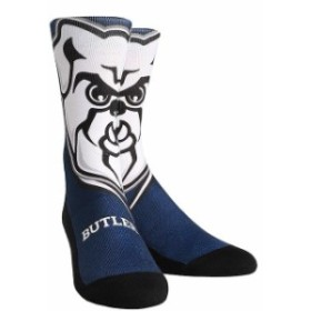 Rock Em ロックイーエム スポーツ用品  Butler Bulldogs Youth Mascot & Logo Crew Socks