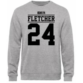 NFL Pro Line by Fanatics Branded エヌエフエル プロ ライン スポーツ用品  Bradley Fletcher NFLPA Player Issued Sweatshirt - Ash