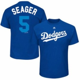 Majestic マジェスティック スポーツ用品  Majestic Corey Seager Seager Los Angeles Dodgers Royal 2017 Players Weekend Name & Numbe
