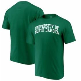 Alta Gracia アルタ グラシア スポーツ用品  Alta Gracia (Fair Trade) North Dakota Kelly Green Arched Wordmark T-Shirt