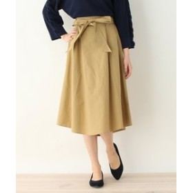 【pink adobe:スカート】◆ヘムラインミモレスカート