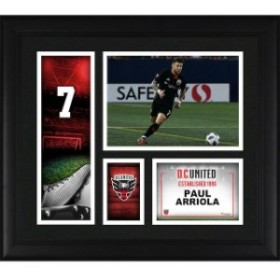 Fanatics Authentic ファナティクス オーセンティック スポーツ用品  Fanatics Authentic Paul Arriola D.C. United Framed 15 x 17 Play