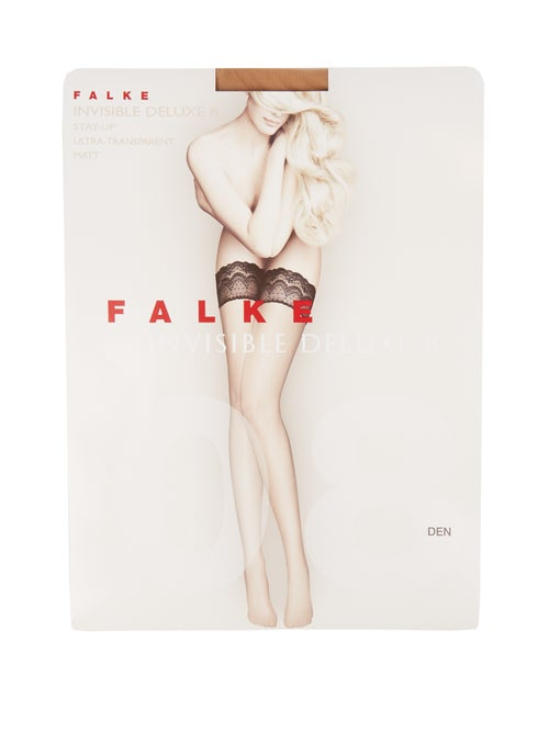 Falke - Invisible Deluxe 8 Hold-ups - Womens - Nude