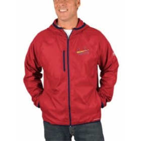 Majestic マジェスティック アウターウェア ジャケット/アウター Majestic St. Louis Cardinals Red Strong Will Dry Base Full-Zip Hood