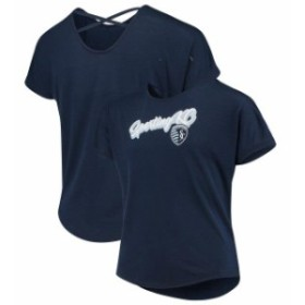 Fanatics Branded ファナティクス ブランド スポーツ用品  Fanatics Branded Sporting Kansas City Girls Youth Navy Team T-Shirt