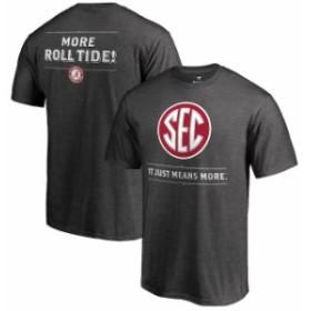 Fanatics Branded ファナティクス ブランド スポーツ用品  Fanatics Branded Alabama Crimson Tide Ash SEC Means More T-Shirt