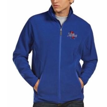 Antigua アンティグア スポーツ用品  Antigua Tulsa Golden Hurricane Royal Ice Full-Zip Jacket