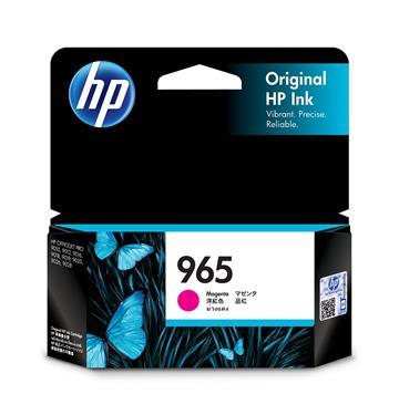 (福利品)惠普HP 965 洋紅色原廠墨水匣(3JA78AA)