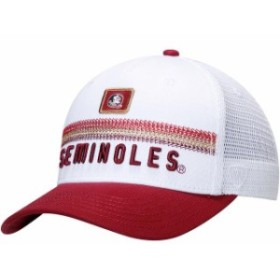 Top of the World トップ オブ ザ ワールド スポーツ用品  Top of the World Florida State Seminoles White Bayswater Trucker Adjustab