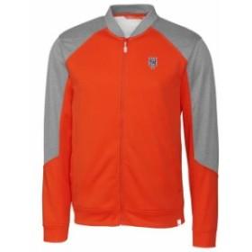 Cutter & Buck カッター アンド バック スポーツ用品  New York Mets Cutter & Buck Pop Fly Full-Zip Jacket - Orange