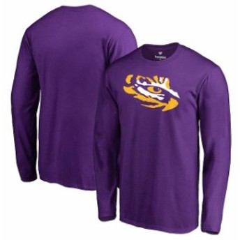 Fanatics Branded ファナティクス ブランド スポーツ用品  Fanatics Branded LSU Tigers Purple Big & Tall Primary Team Logo Long Slee