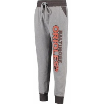 Concepts Sport コンセプト スポーツ スポーツ用品  Concepts Sport Baltimore Orioles Heathered Gray Recruit Jogger Pants