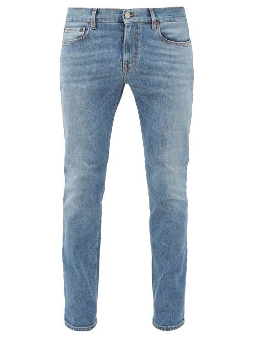 Jeanerica Jeans & Co. - Sm001 Slim-leg Jeans - Mens - Blue
