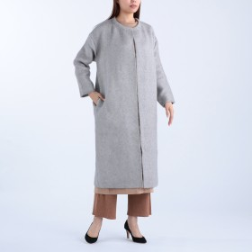 ADAWAS(アダワス)/AIRY SPONGISH MOHAIR COAT