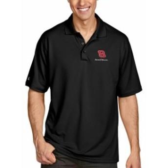 Antigua アンティグア シャツ ポロシャツ Daniel Hemric Antigua Pique Desert Dry Xtra Lite Polo - Black