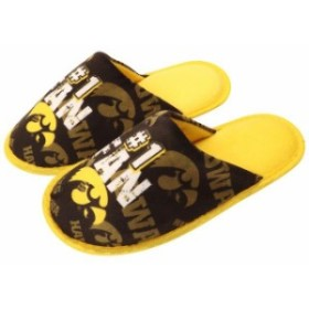 Forever Collectibles フォーエバー コレクティブル スポーツ用品  Iowa Hawkeyes Youth Scuff Slide Slippers