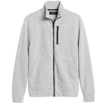【バナナ・リパブリック:トップス】Polartec(R) セーターフリースジャケット