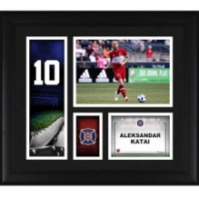 Fanatics Authentic ファナティクス オーセンティック スポーツ用品  Fanatics Authentic Aleksandar Katai Chicago Fire Framed 15 x 17