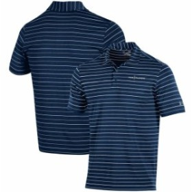 Under Armour アンダー アーマー スポーツ用品  Under Armour Navy/Gray THE PLAYERS Stripe 2.0 Performance Polo