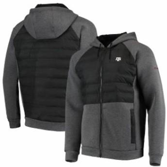 Columbia コロンビア アウターウェア ジャケット/アウター Columbia Texas A&M Aggies Black Northern Comfort Full-Zip Hooded Raglan J