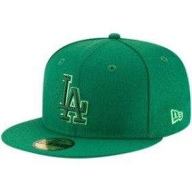 New Era ニュー エラ スポーツ用品  New Era Los Angeles Dodgers Green 59FIFTY League Pop Fitted Hat