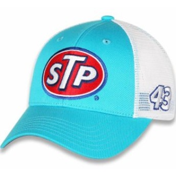 Checkered Flag チェッカード フラッグ スポーツ用品  Checkered Flag Bubba Wallace Light Blue/White Draft Trucker Adjustable Hat