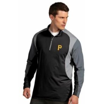 Antigua アンティグア アウターウェア ジャケット/アウター Antigua Pittsburgh Pirates Black Beta Pullover Jacket