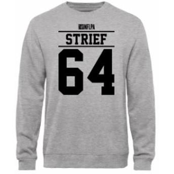 NFL Pro Line by Fanatics Branded エヌエフエル プロ ライン スポーツ用品  Zach Strief NFLPA Player Issued Sweatshirt - Ash