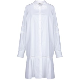 《セール開催中》OTTOD'AME レディース ミニワンピース&ドレス ホワイト 38 コットン 100%