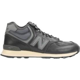 《期間限定セール開催中!》NEW BALANCE メンズ スニーカー&テニスシューズ(ローカット) 鉛色 8 革 / 紡績繊維 MH574 Leather Outdoor Boot