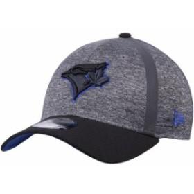 New Era ニュー エラ スポーツ用品  New Era Toronto Blue Jays Heathered Gray/Black Clubhouse 39THIRTY Flex Hat