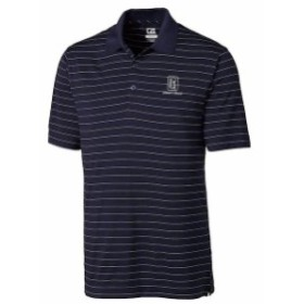 Cutter & Buck カッター アンド バック スポーツ用品  Cutter & Buck TPC Rivers Bend Navy DryTec Franklin Stripe Polo