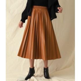 ANAP(アナップ)/エコレザープリーツロングスカート