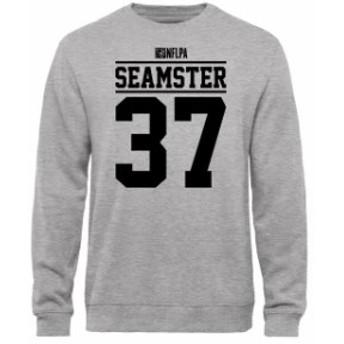 NFL Pro Line by Fanatics Branded エヌエフエル プロ ライン スポーツ用品  Sammy Seamster NFLPA Player Issued Sweatshirt - Ash