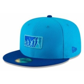 New Era ニュー エラ スポーツ用品  New Era Kansas City Royals Blue/Blue 2018 Players Weekend Team Umpire 59FIFTY Fitted Hat