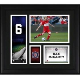 Fanatics Authentic ファナティクス オーセンティック スポーツ用品  Fanatics Authentic Dax McCarty Chicago Fire Framed 15 x 17 Play