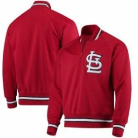 Mitchell & Ness ミッチェル アンド ネス アウターウェア ジャケット/アウター Mitchell & Ness St. Louis Cardinals Red 1985 Authentic