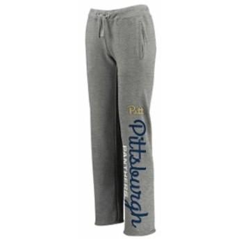 Fanatics Branded ファナティクス ブランド スポーツ用品  Pitt Panthers Womens Heathered Gray Cozy Fleece Sweatpants