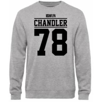 NFL Pro Line by Fanatics Branded エヌエフエル プロ ライン スポーツ用品  Nate Chandler NFLPA Player Issued Sweatshirt - Ash