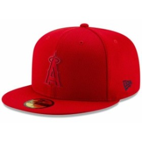 New Era ニュー エラ スポーツ用品  New Era Los Angeles Angels Red 2019 Clubhouse Collection 59FIFTY Fitted Hat
