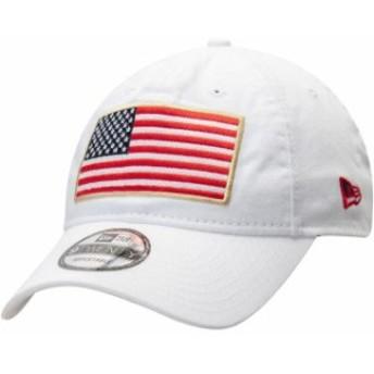 New Era ニュー エラ スポーツ用品  Air Force Falcons New Era Country First 9TWENTY Adjustable Hat  White