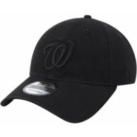 New Era ニュー エラ スポーツ用品  New Era Washington Nationals Black Team Tonal Core Classic 9TWENTY Adjustable Hat
