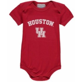 Two Feet Ahead トゥー フィート アヘッド スポーツ用品  Houston Cougars Infant Red Arch & Logo Bodysuit